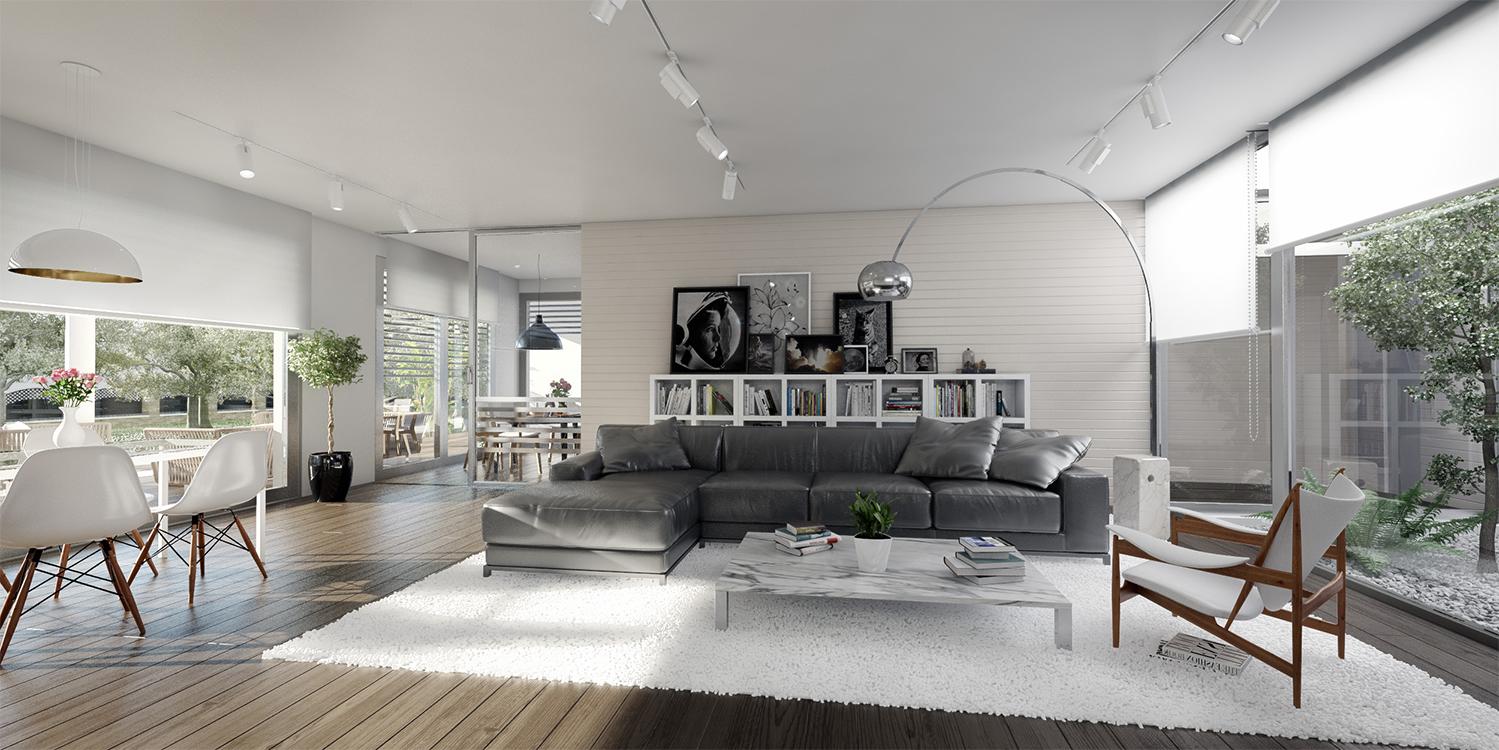 Casas de alta calidad y eficiencia energética - Interiores amplios y confortables